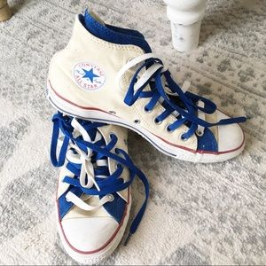 Converse All Star High Top Double Tongue Sneakers